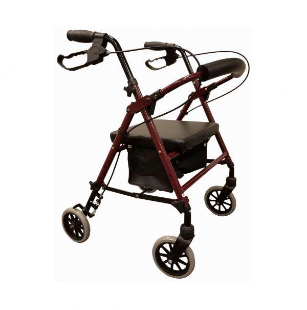 4 Wheel Aluminum Hemi Cart R420K