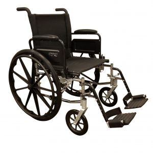 """18"""" Standard adult with elevating footrests"""