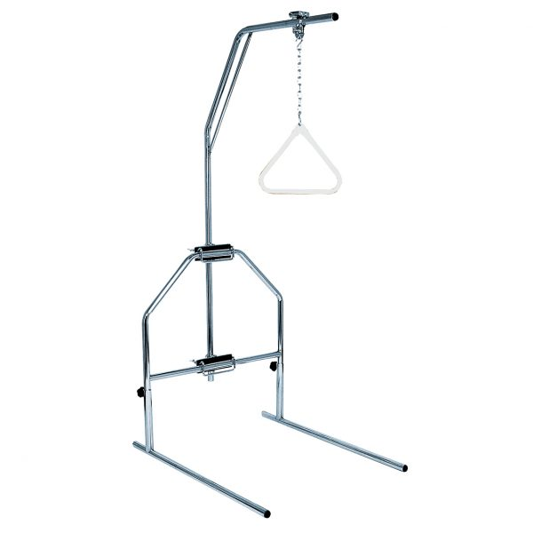 Trapeze bar with stand